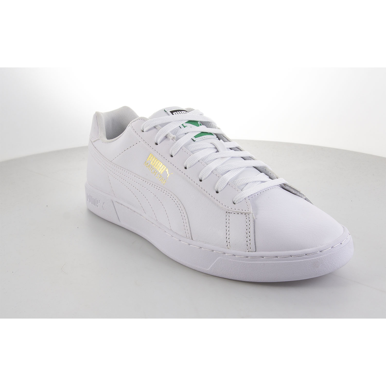 Mens White Puma Match Star Sneaker | Soletrader
